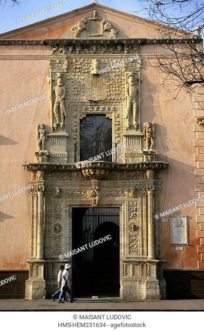Mexico, Yucatan state, Merida, casa de Montejo dated 16th century