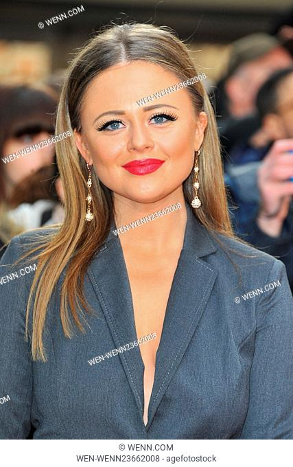 Jameson Empire Awards 2016 at the Grosvenor House in London, England Featuring: Emily Atack Where: London, United Kingdom When: 20 Mar 2016 Credit: WENN