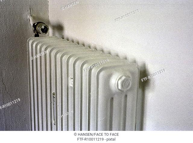 Heater on the wall