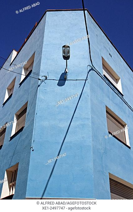 Residential building, Odena, Anoia, Catalonia, Spain