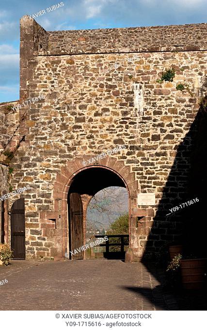 Citadel Vauban, Saint Jean Pied de Port, Pyrénées-Atlantiques, Aquitaine, France