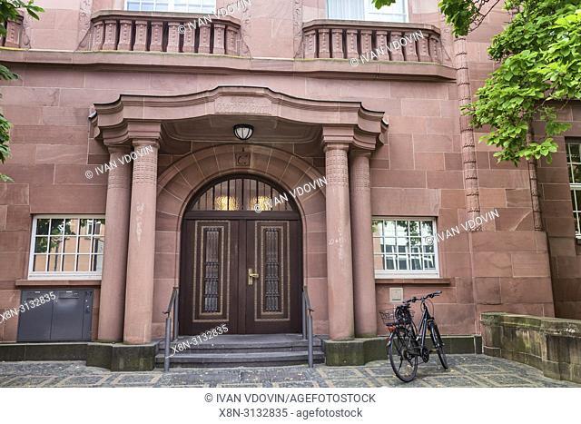 Evangelisches Oberkirchenrat (1907), The Evangelical Superior Church Council, Karlsruhe, Baden-Wurttemberg, Germany