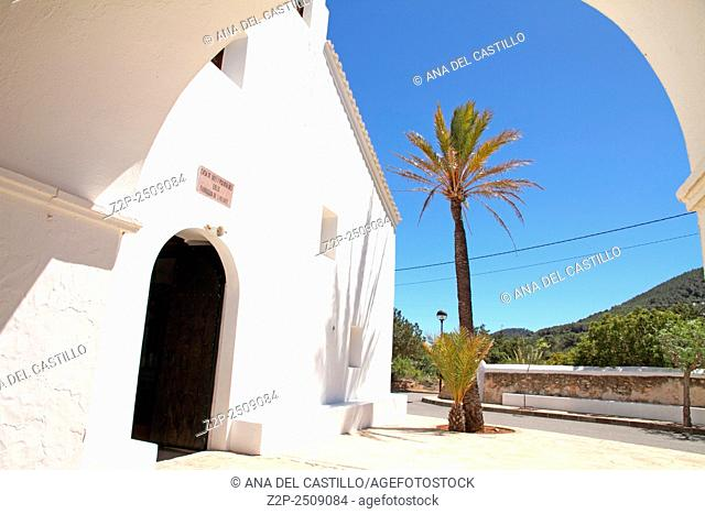 San Vicente church Ibiza island Balearic islands Spain
