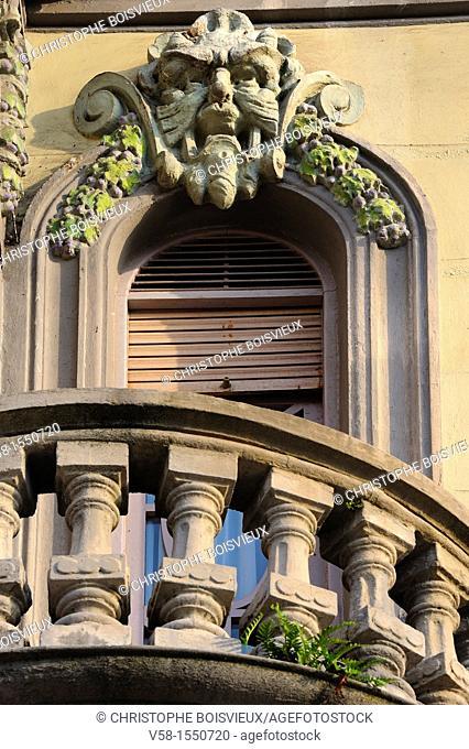 Spain, Asturias, Aviles, Calle Galiana, The Conservatory