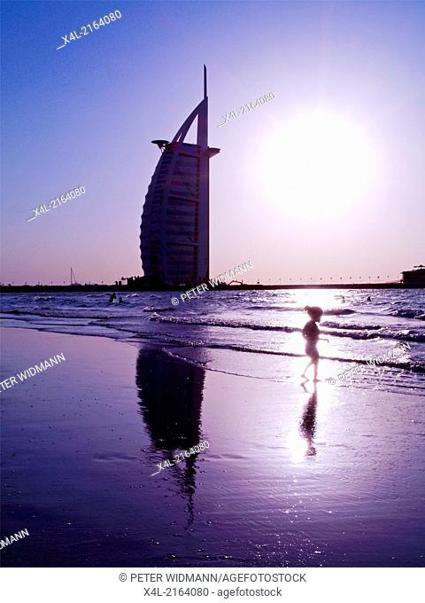 Dubai, Sevenstar-Hotel Burj al Arab, United Arab Emirates