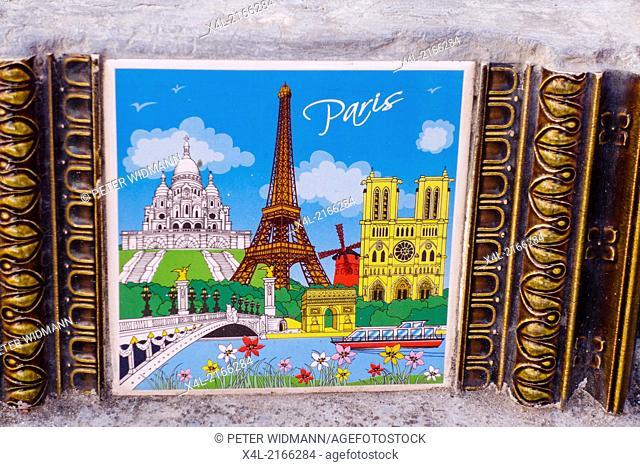 Rio de Janeiro, Santa Teresa, Lapa, Escadeira de Selaron, Escadaria, Paris, Montmatre, Notre Dame, Brazil