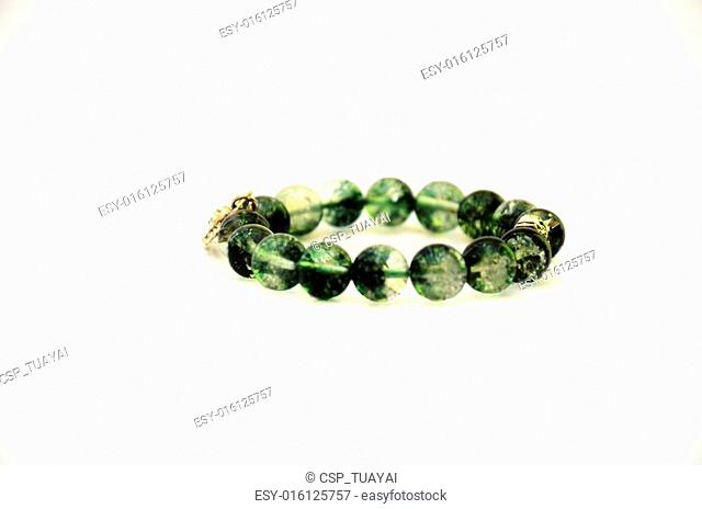 Bracelet Make from Green Rock