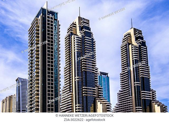 Ocean Heights Tower at Dubai Marina, Dubai, UAE