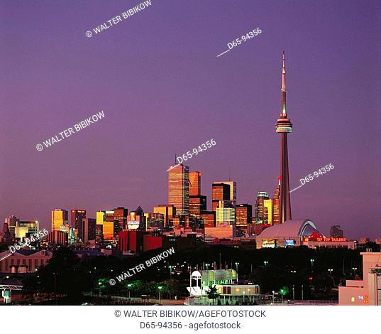 Toronto, view from Ontario Place. Ontario, Canada