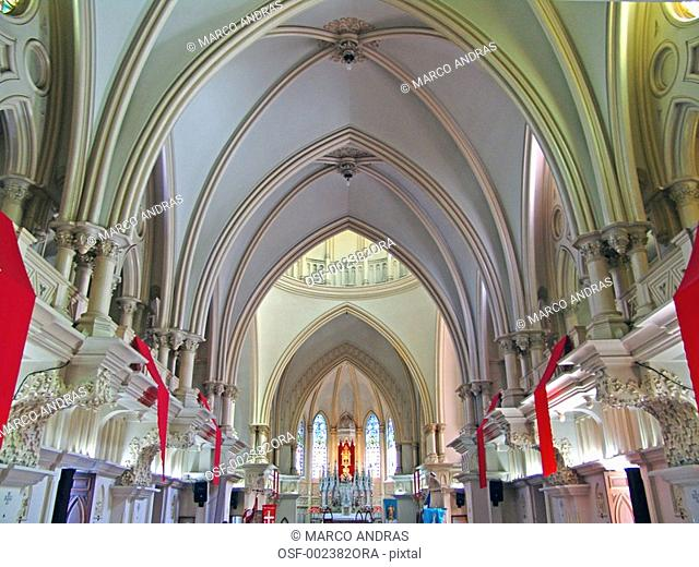 belo horizonte mg internal view of the cathedral