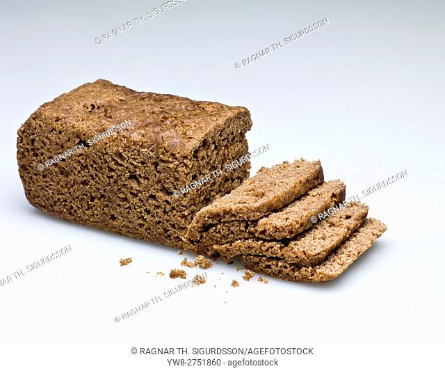 Icelandic Rugbraud. Traditionally baked in wooden casts and buried near hot springs. Compared to rye and pumpernickel bread