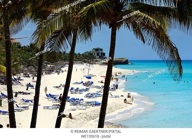 Dupont Xanadu mansion at white sand beach of Varadero resorts Cuba