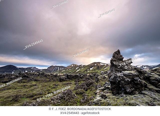 Landmannalaugar area, Highland Iceland