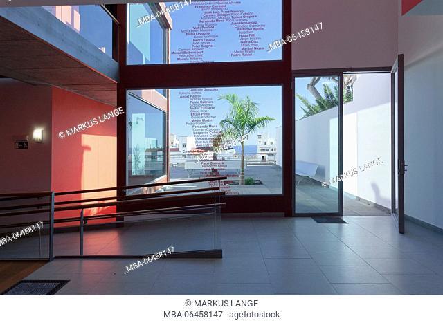 Museum for modern art, Santa Cruz de la Palma, La Palma, Canary islands, Spain