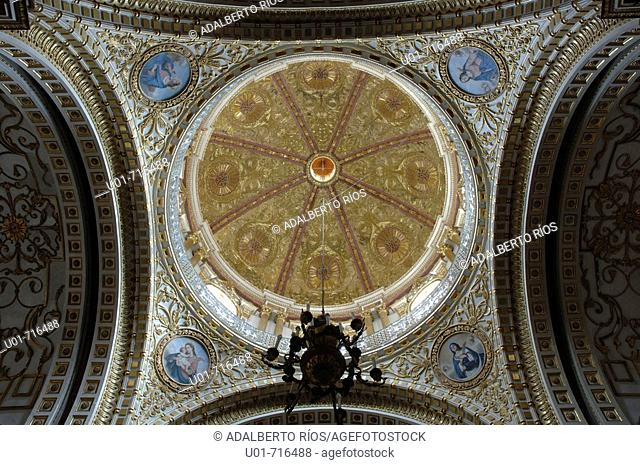 Dome of the Chapel of Naples. Guadalupe. Zacatecas. Mexico