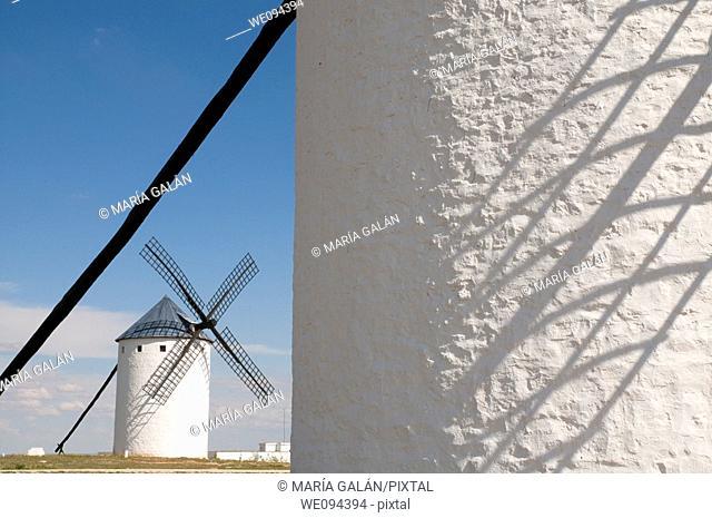 Windmill. Campo de Criptana, Ciudad province, Castilla La Mancha, Spain