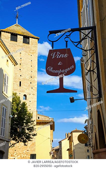 Tour des Fromages, Cluny, Saone-et-Loire Department, Burgundy Region, Maconnais Area, France, Europe