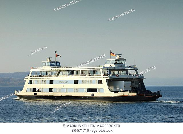 Ferry ship MF Konstanz - Baden Wuerttemberg, Germany Europe