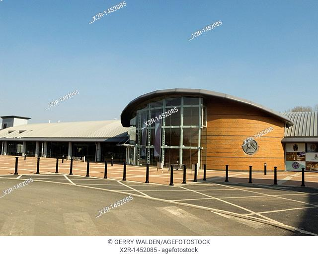 The Wedgwood Visitors Centre at Barlaston, Stoke-on-Trent, Staffordshire