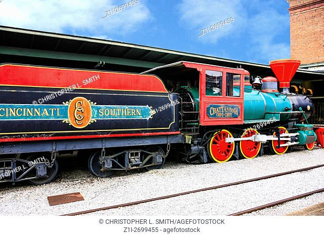 The Chattanooga Choo-Choo train at the former Terminal Station in Tennessee
