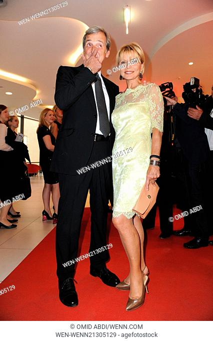 Guests attending Victress Awards Gala 2014 at Andels Hotel Berlin. Featuring: Uschi Glas,Dieter Hermann Where: Berlin, Germany When: 28 Apr 2014 Credit: Omid...