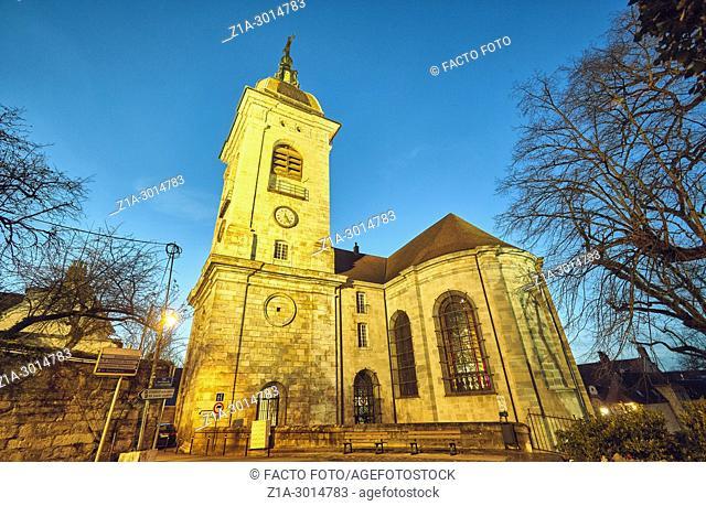 Saint-Jean cathedral. Besançon. Bourgogne-Franche-Comte. France