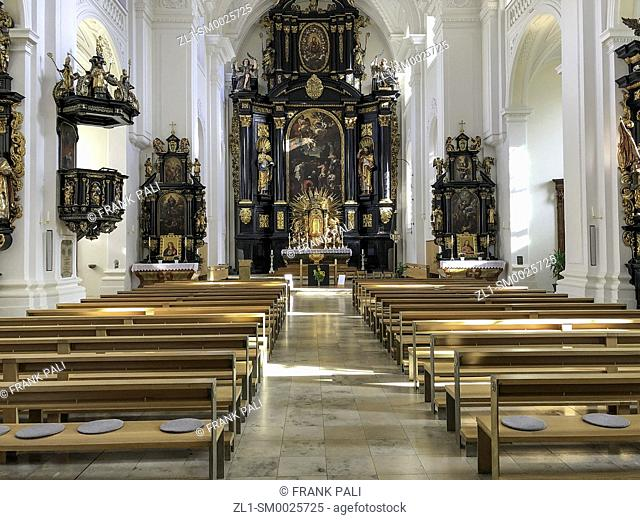 St. Stephen's Cathedral, Passau. St. Stephen's Cathedral (German: Dom St. Stephan) is a baroque church from 1688 in Passau