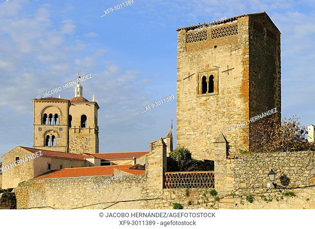 Towers of Trujillo. Cáceres province. Extremadura. Spain