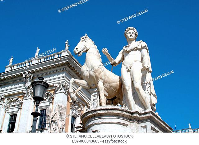 Piazza del Campidoglio. Rome. Italy