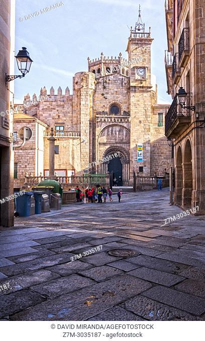 Catedral románica de San Martín. Ourense. Galicia. Spain