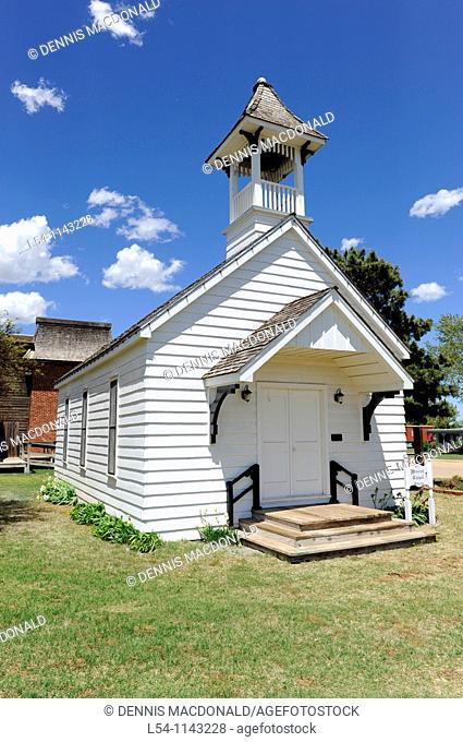 White Prairie Church National Route 66 Museum Elk City Oklahoma