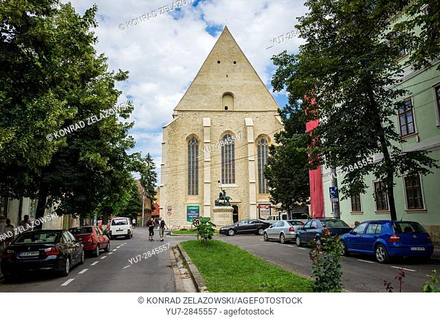 Transylvanian Reformed Calvinist Church in Cluj Napoca, second most populous city in Romania