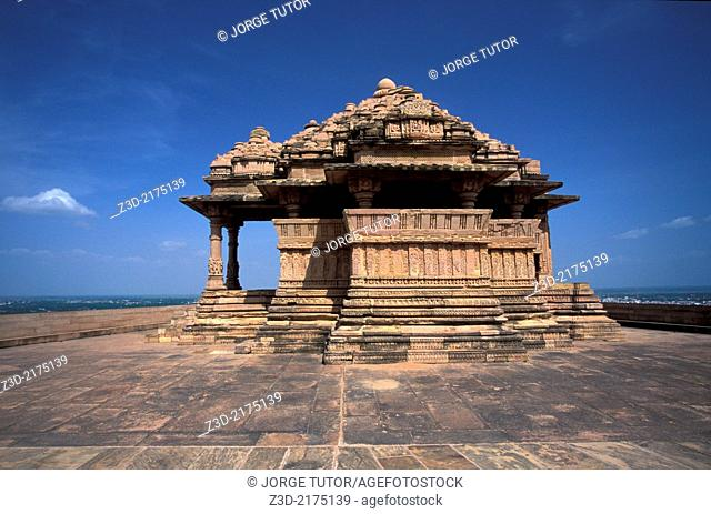 Sas Bahu Temples, Gwalior Fort, Madhya Pradesh, India