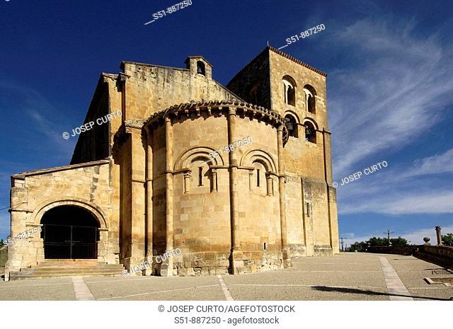 Church of El Salvador, Sepulveda. Segovia province, Castilla-Leon, Spain