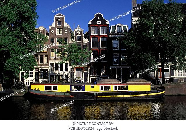 Amsterdam, houseboat Keizersgracht