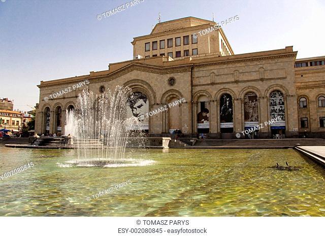 Central square in Yerevan