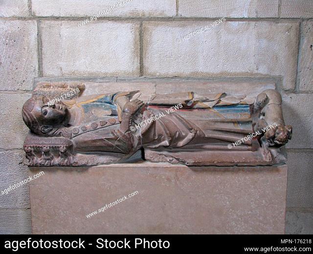 Tomb Effigy of a Boy, Probably Ermengol IX, Count of Urgell. Date: first half 14th century; Culture: Catalan; Medium: Limestone