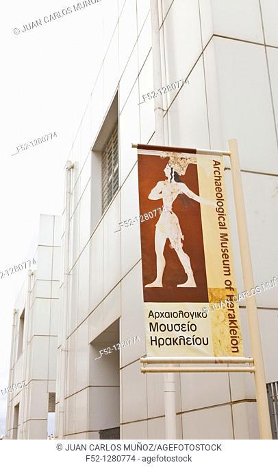 Heraklion Archaeological Museum, Crete, Aegean Sea, Greece
