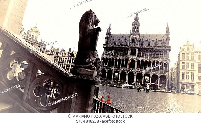 Brussels - King's House in Grand Place