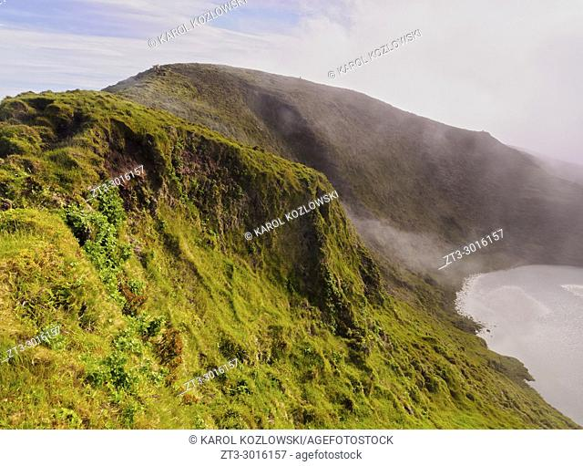 Landscape of the central part of the Pico Island, Azores, Portugal