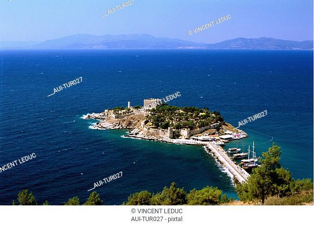 Turkey - Mediterranean Coast - Izmir Region - Kusadasi - Pigeons Island Fortress