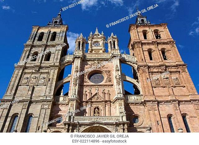 Cathedral of Astorga, Leon, Castilla y Leon, Spain