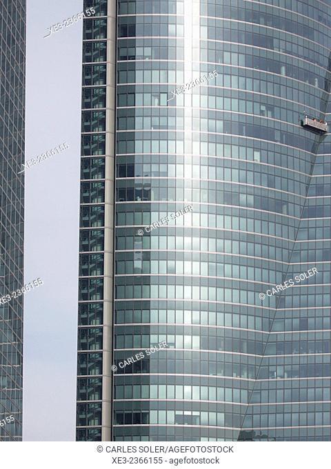 Torre Espacio. Cuatro Torres Business Area (Four Towers Business Area). Paseo de la Castellana. Madrid. Spain