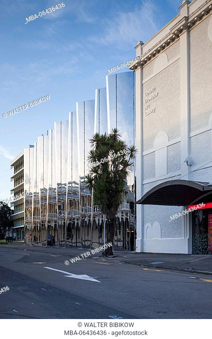 New Zealand, North Island, New Plymouth, Govett-Brewster Art Gallery