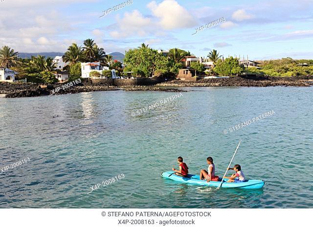 Puerto Ayora, Santa Cruz Island, Galapagos Islands, Ecuador