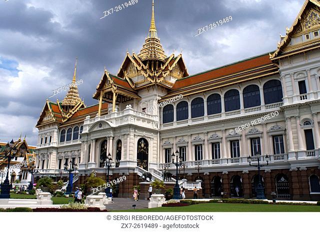 Chakri Maha Prasat Hall, Grand Palace, Bangkok, Thailand, Southeast Asia, Asia