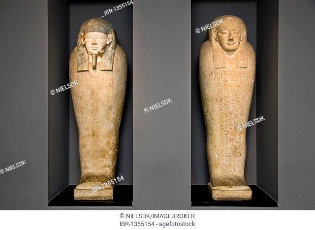 Mummies, Glyptotek, Copenhagen, Denmark, Europe
