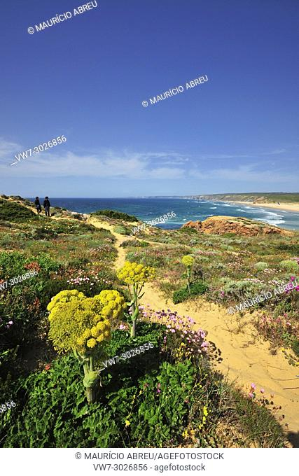 Spring in the Sudoeste Alentejano and Costa Vicentina Nature Park, the wildest atlantic coast in Europe. Portugal