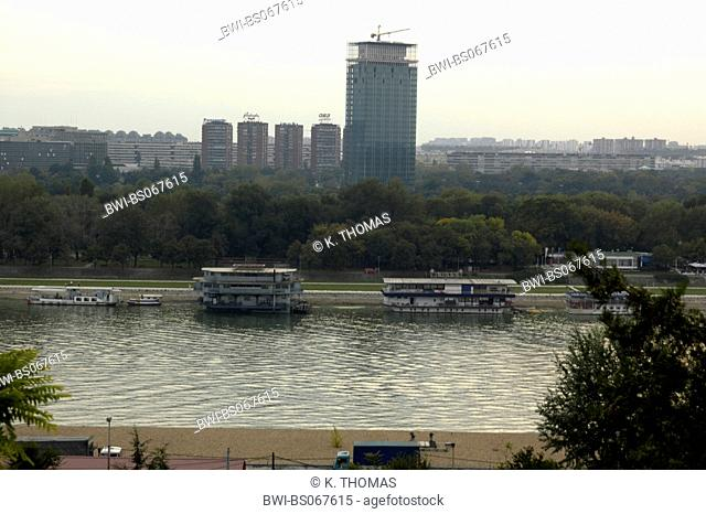 Beograd, river Save, Serbia-Montenegro, Belgrade