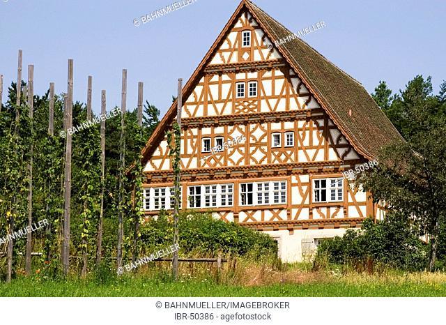 Neuhausen ob Eck district of Tuttlingen Baden-Württemberg Baden-Württemberg Germany open air museum timbered house Mariazell